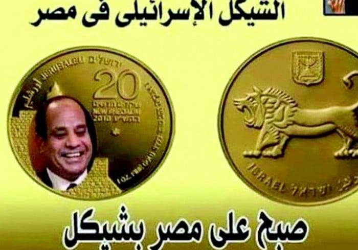 Le Président Al Sisi villipendé