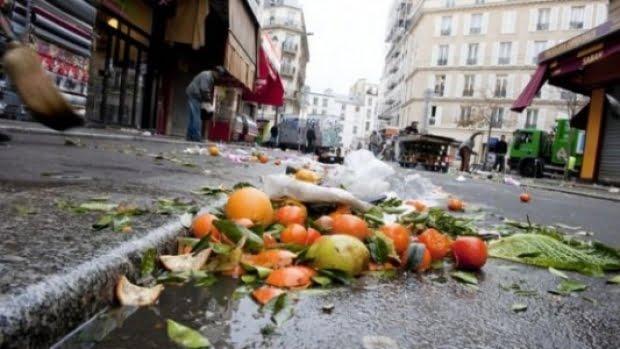 Des millions de tonnes de nourriture à la poubelle