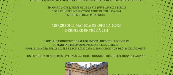 Martine Benayoun Présidente-Fondatrice Cercle de la LICRA-Réfléchir les droits de l'Homme