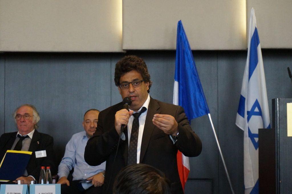Meyer Habib député UDI représentant des  Français qui vivent en Israël