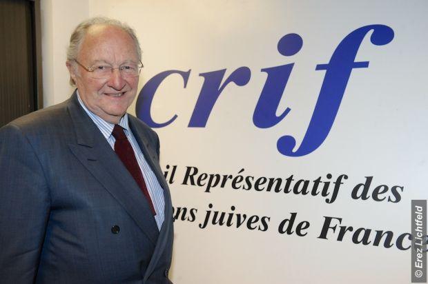 CRIF et son président Roger Cukierman