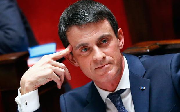 """Manuel-Valls s'est présenté comme """"un ami d'israël"""""""