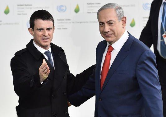 Manuel Valls rencontrera demain Binyamin Netanyahou