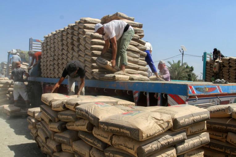 Reprise des transferts de ciment au passage keren shalom