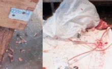 fermeture d'une fausse boucherie cachere sur les marches de Saint-Denis