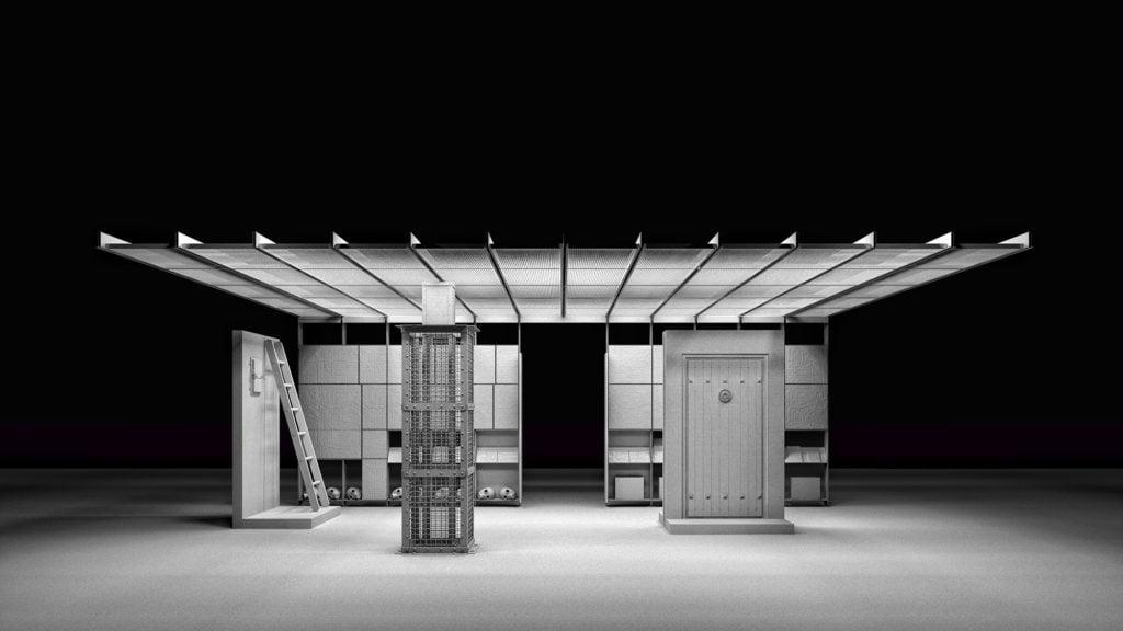 Biennale de Venise 2016: une chambre u00e0 gaz nazie reconstituu00e9e ...
