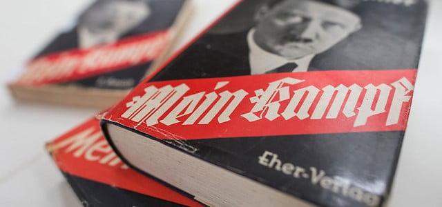 Les recettes de la vente de Mein Kampf iront aux survivants de la Shoah