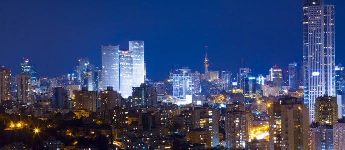 La nuit à Tel Aviv