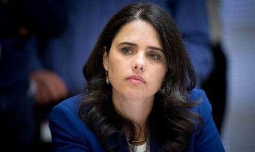 La Ministre de la justice Ayelet Sha