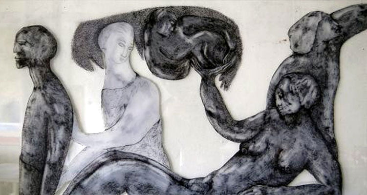 Agneta Sofiadotter l'origine du monde qui lie l'être à l'animal.