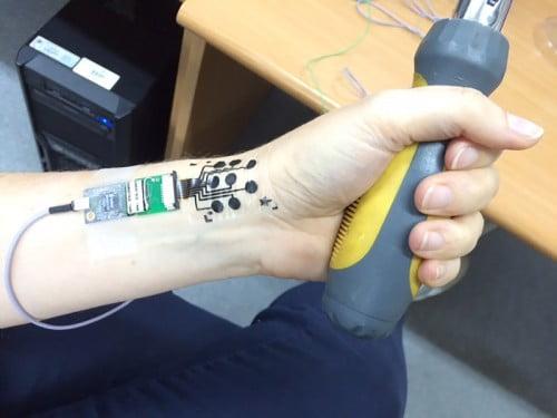 Le tatouage électronique développé à l'université de Tel Aviv