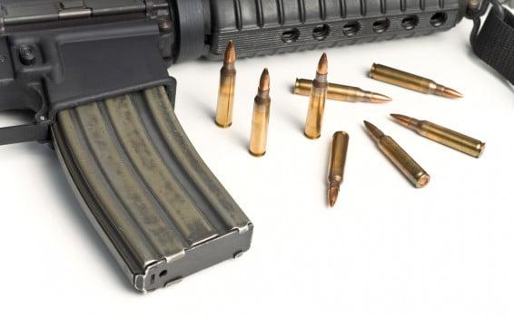 Une quantité impressionnante d'armes