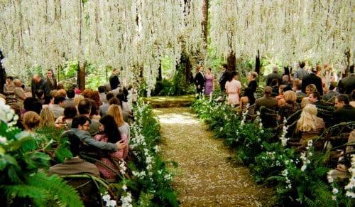 La scène du mariage de Twilight