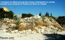 Ces débris sont ceux du mont du temple l'histoire juive