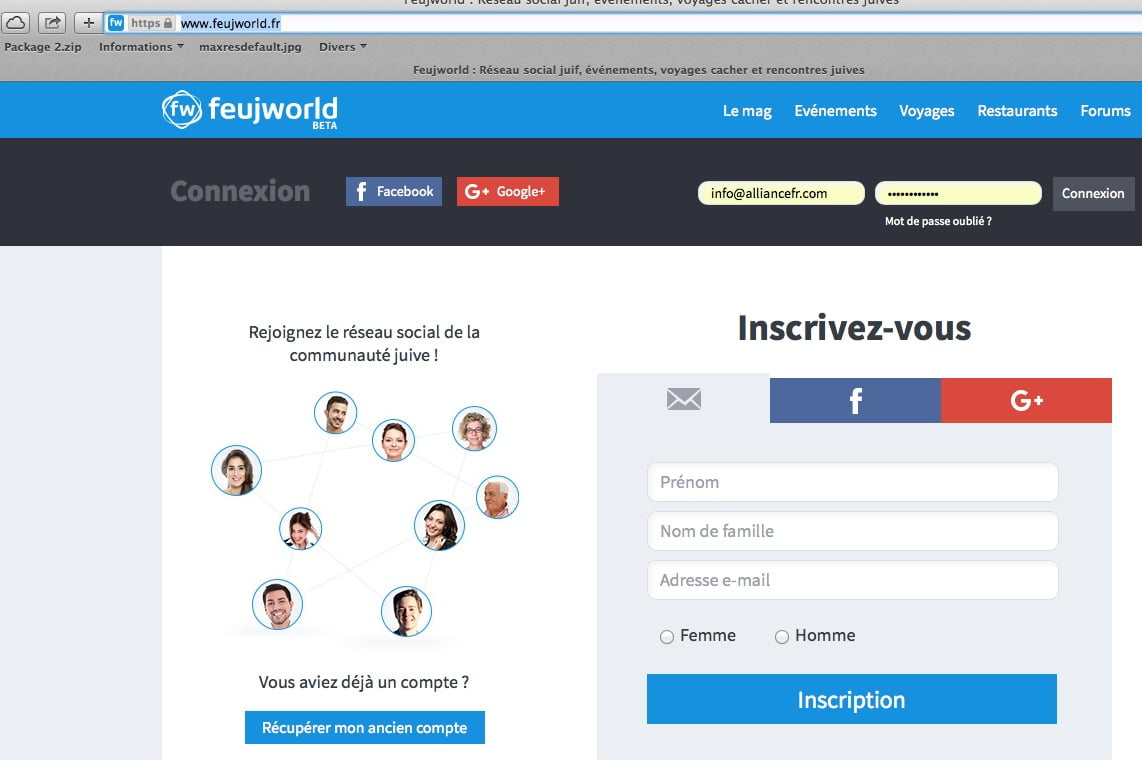 feujworld-inscription-reseau-social