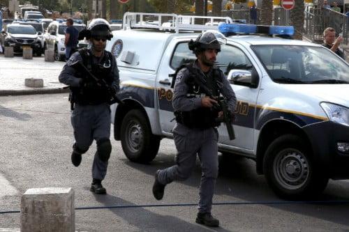 Les policiers de Jérusalem