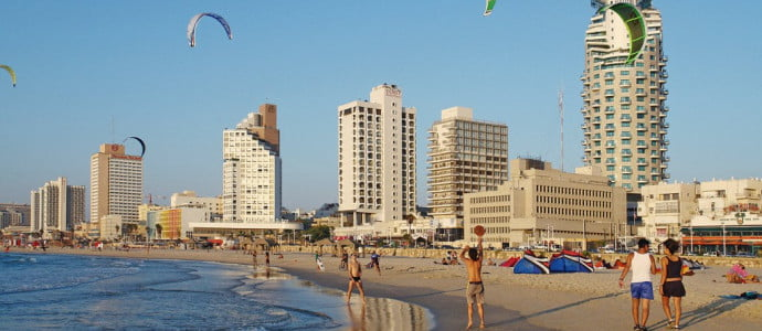 Un recueil d'applications mobiles pour les touristes en vacances à Tel Aviv