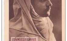 Les juifs du Maroc , le futur roi Mahomet V