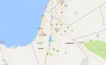 la bonne nouvelle jamais eu de Palestine sur google maps