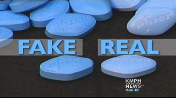 Saisie d'un stock de médicaments sexo-actifs contrefaits à