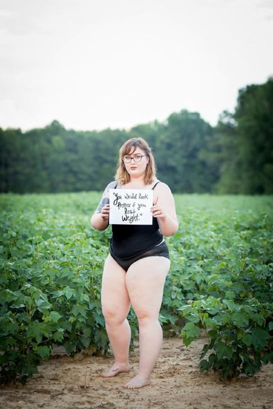 Tu serais plus jolie si tu perdais du poids Photo Jess Field