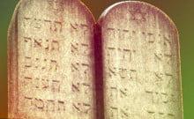 Judaisme :Les Tables de la loi