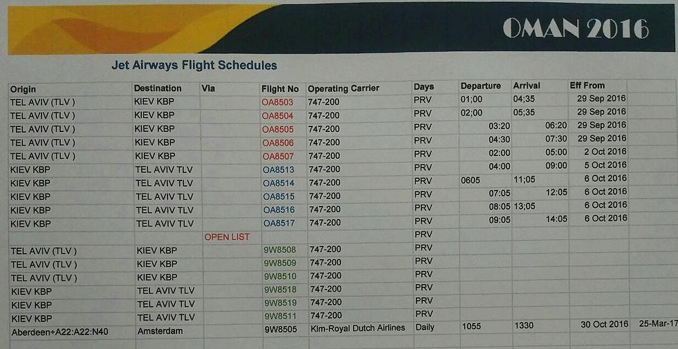 Oman Air, l'arnaque à plein nez