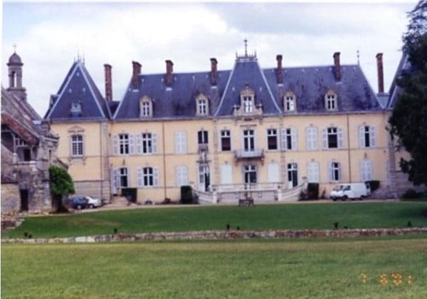 Le chateau du comte de Menthon
