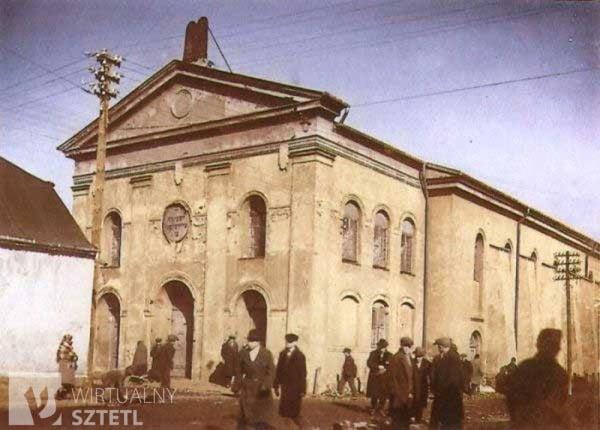 Une synagogue de Czestochowa