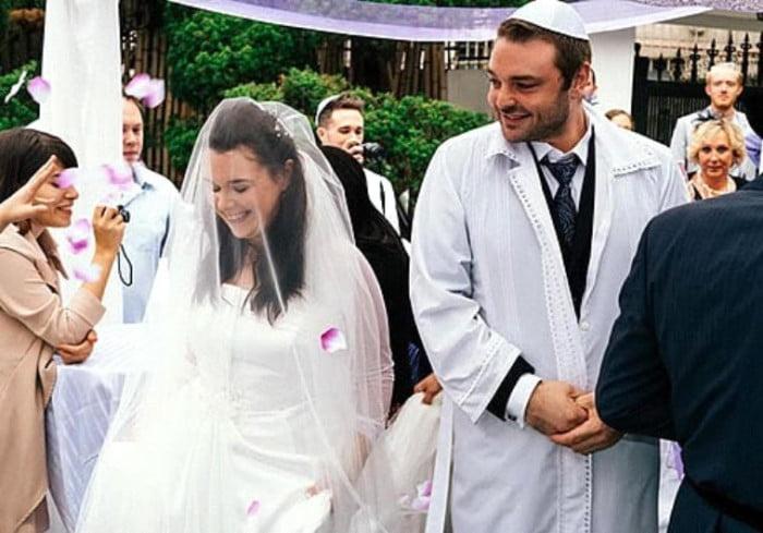 ... du premier mariage juif orthodoxe de core du sud - Mariage Juif