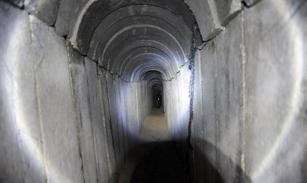 Un tunnel de Gaza