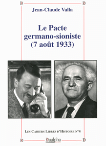 L'accord entre l'agence juive et Hitler