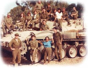 Mémé Hélène et Tsahal l'armée israélienne