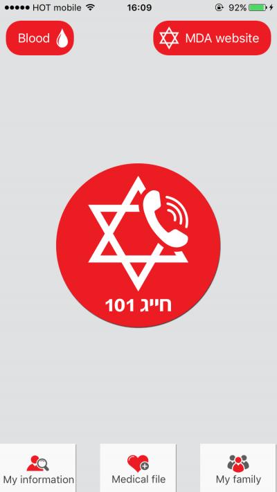 Mon MDA app est disponible en russe, en anglais, en arabe, en hébreu, en français et en amharique