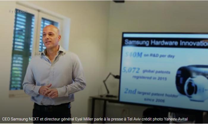 Après Apple, Samsung NEXT s'implante à Tel Aviv