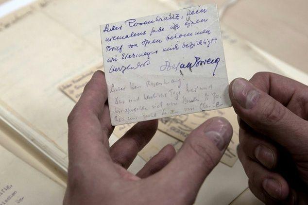 26 lettres intimes retrouvés de Stefan Sweig