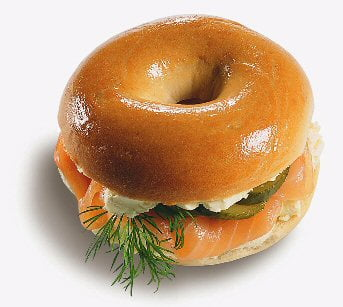 Le bagel au saumon: un avant goût de paradid