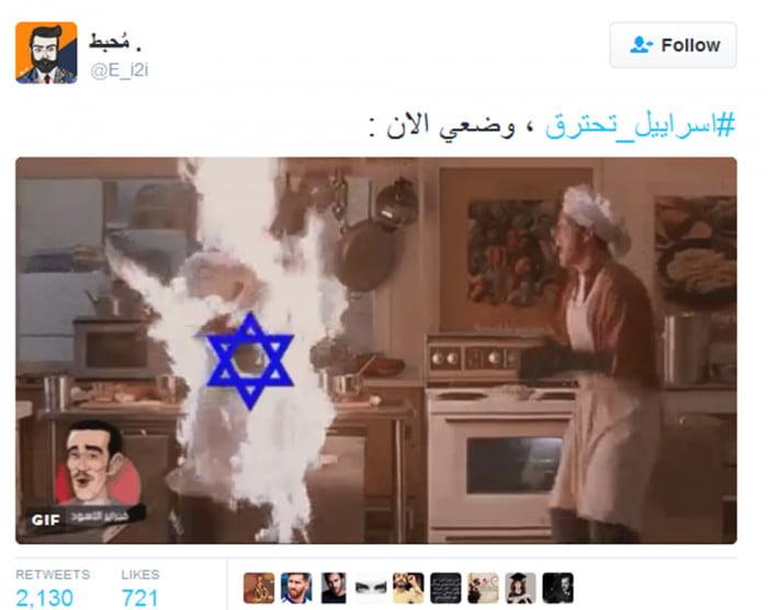 Israel: les arabes se réjouissent des incendies