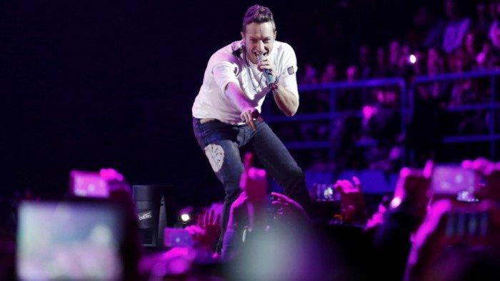 Arrivée surprise de Chris Martin en Israël