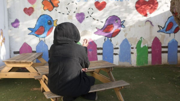 Dans un refuge pour femmes battues en Israël