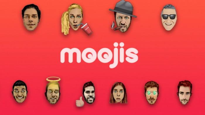 Moojis app: des émoticônes à votre image