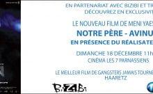 Avinu film israélien notre père projection à Paris