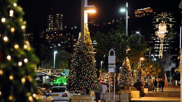 Noël à Haïfa