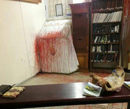 Le tombeau de Rabbi Nachman profané