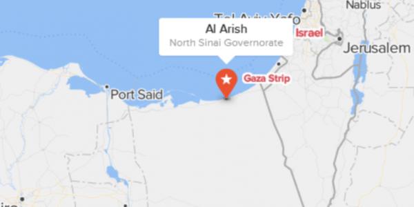 Le nord du Sinaï