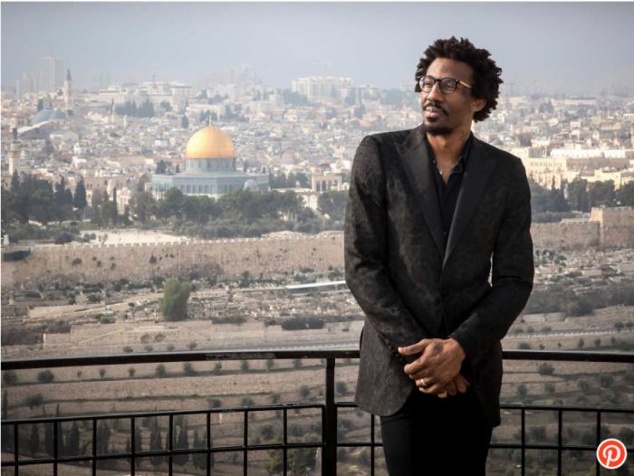 La star de la NBA Amar'e Stoudemire revient à Jerusalem