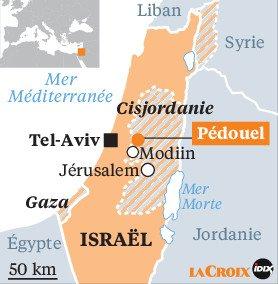 Israël et la cisjordanie