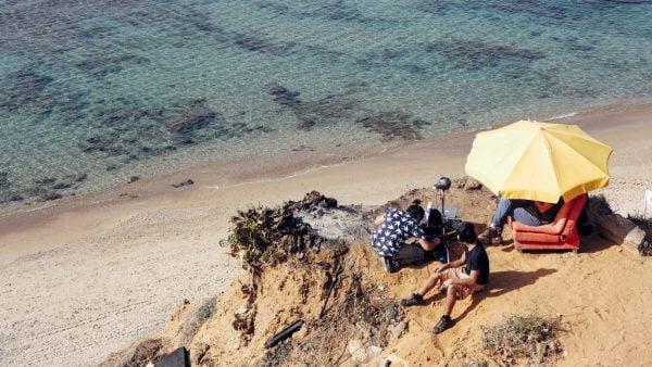 La plage, bien sûr, est parmi les endroits que les utilisateurs de casque VR peuvent explorer avec le Tel Aviv Time Out VR City Guide.