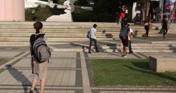 La fin de l'examen psychométrique pour l'université de Tel Aviv