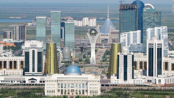 Astana, capitale du Kazakhstan